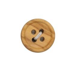 Botón madera para camisa