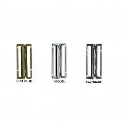 Broche metálico cinturón