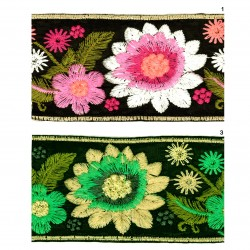 Pasamanería flores