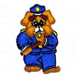 Aplique perro policía...