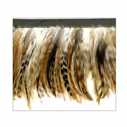 Fleco plumas 14 cm.