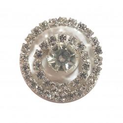 Botón cristal checo
