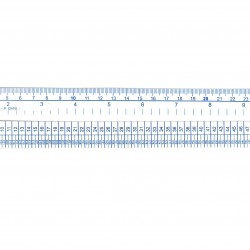 Cinta métrica 60 cm.