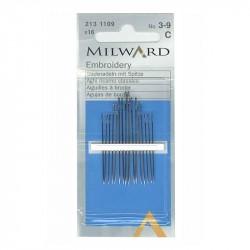 """Aguja de bordar """"MILWARD"""""""